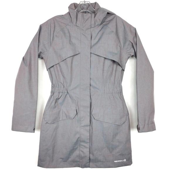 5d64e4dd0 Merrell x dry womens SZ small raincoat jacket CP